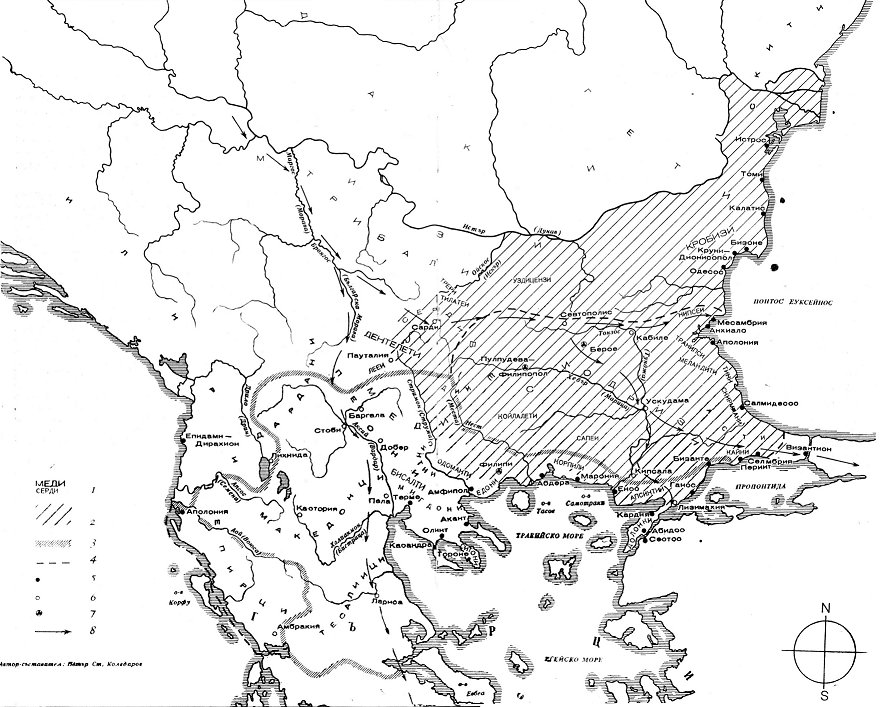 Източните и централните части на Балканския полуостров до падането им под римска власт (през първото хилядолетие пр. н. е.)